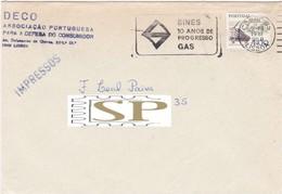 1981 Sines 10 Anos De Progresso Gas Economie DECO Consumer Progress Industry Alentejo Flamula Instruments Travail - Fábricas Y Industrias