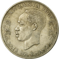 Monnaie, Tanzania, Shilingi, 1966, TB+, Copper-nickel, KM:4 - Tanzanía