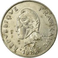 Monnaie, French Polynesia, 20 Francs, 1988, Paris, TB+, Nickel, KM:9 - Polynésie Française