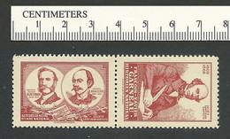 B45-74 CANADA Societe St-Jean-Baptiste SSJB 33b-34b MNH Garneau & Hymne Red - Local, Strike, Seals & Cinderellas