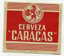 042 Beer Label -  Venezuela - Cervezera Nacional - Bier