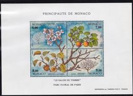 1994, Monaco, 2196/99 Block 65, Die Vier Jahreszeiten (XII), MNH ** - Blocs