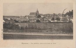 Eure  Et  Loir : EPERNON :  Prise D E La  Route De   Drou  Ou  Brou ,  Vue - Epernon