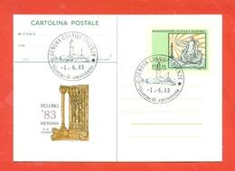 INTERI POSTALI- C 195 - FDC - - Interi Postali