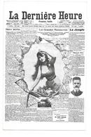 CPA LA DERNIERE HEURE JOURNAL - Illustrateurs & Photographes