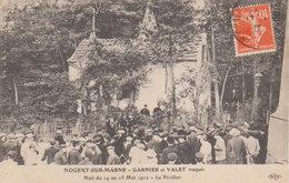 """1912 Nogent Sur Marne """" La Bande à Bonnot """" Garnier Et Valet Traqués Au Pavillon  Nuit Du 14  Mai 1912 ( Vers Bar Le Duc - Prigione E Prigionieri"""
