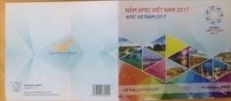 Booklet Of Vietnam Viet Nam : APEC Meeting - Issued On 6th Of Nov 2017 / 02 Photo - Vietnam