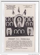 PEZENAS : Crouzet Fers A Cheval Et A Mulet Forgés Mécaniquement (quincaillerie) - Tres Bon Etat - Pezenas