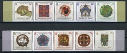 Isle Of Man MiNr. 1925-34 Postfrisch MNH Achibald Knox (H1246 - Man (Insel)