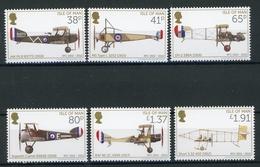 Isle Of Man MiNr. 1800-05 Postfrisch MNH Flugzeuge (H1262 - Man (Insel)