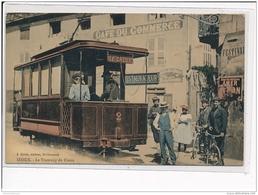 IZIEUX - Le Tramway Du Creux - Très Bon état - Autres Communes