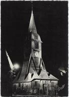 14  Honfleur Illumination Du Clocher  De L'eglise Sainte Catherine - Honfleur