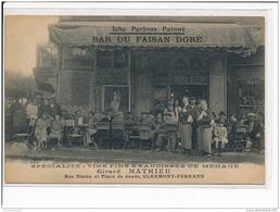 CLERMONT FERRAND - Bar Du Faisan Doré - Très Bon état - Clermont Ferrand