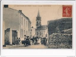 SAINT MICHEL EN L'HERM - L'entrée, Route De Triaize - BOULANGERIE - Très Bon état - Saint Michel En L'Herm