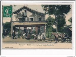 MONTREUIL - Etablissement Lafrasse, Rue De Romainville - Très Bon état - Montreuil