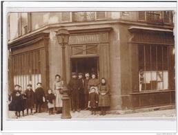 PUTEAUX : Carte Photo Du Café Restaurant NODIOT - Rue Gerhard - Très Bon état - Puteaux