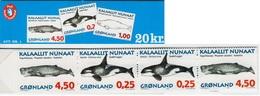 Greenland - 1996 -  Whales Of Greenland - Mint Stamp Booklet - Markenheftchen