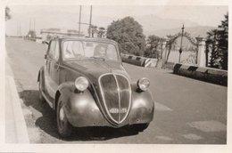 """FO--157-- FOTO ORIGINALE - AUTOMOBILE """" FIAT TOPOLINO """"-PORTOFINO - Sta. MARGHERITA - Automobili"""