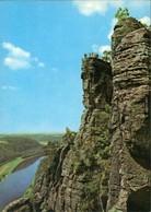 Ansichtskarte Rathen Basteifelsen (Sächsische Schweiz) 1974 - Rathen
