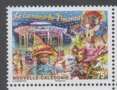 NEW CALEDONIA ,2017 ,MNH, CARNIVAL, DOLPHINS, BOATS, 1v - Carnival