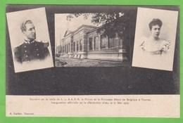 TOURNAI   -   Souvenir De La Visite De L.A.R   Le Prince Et La Princesse Albert De Belgique - Tournai