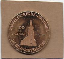100 VICOGNE  1982 DIKSMUIDE DOOR DE EEUWEN HEEN - Gemeentepenningen