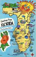 Maps - Greetings From Florida .map - Landkarten