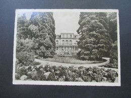 BRD 1953 Helfer Der Menschheit Nr. 157 EF Vom Unterrand! AK Badenweiler Pension Fürstenberg Im Haus Waldesruhe - BRD