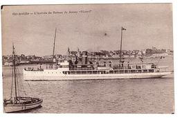 """GRANVILLE (50) - L' Arrivée Du Bateau De Jersey """"Dinard"""" - Ed. Serrand, Granville - Granville"""