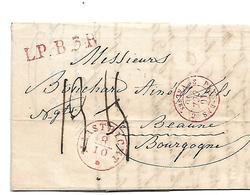 NLC044 / NIEDERLANDE - Mastricht 1840 Nach Beaune, Frankreich - ...-1852 Vorläufer