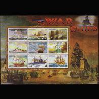 GRENADA 1996 - Scott# 2559 Sheet-War Ships MNH - Thule