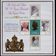 GRENADA 1999 - Scott# 2880 Sheet-Queen Mother MNH - Thule