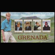 GRENADA 2000 - Scott# 2944 S/S Prince William MNH - Thule