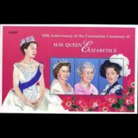 PALAU 2003 - Scott# 724 Sheet-Coronation MNH - Palau