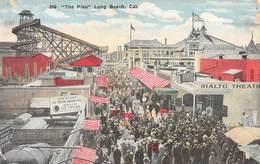 """M08606 """"THE PIKE-LONG BEACH-CAL.""""ANIMATA-LUNA PARK-CART. ORIG. NON SPED. - Long Beach"""