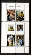 2013 St. Maarten Art Paintings Vermeer  Complete Set Of 4 MNH @70% FACE VALUE - Curaçao, Nederlandse Antillen, Aruba