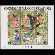 TONGA 1994 - Scott# 859 S/S Animals MNH - Tonga (1970-...)