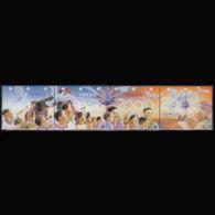 TONGA 1999 - Scott# 1027 Millennium Set Of 4 MNH - Tonga (1970-...)