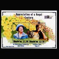 TONGA-NIUAFOU 2000 - Scott# 223 S/S Queen Mother MNH - Tonga (1970-...)