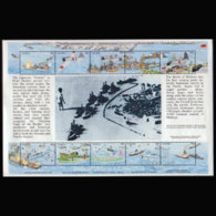 UGANDA 1992 - Scott# 975 Sheet-Pearl Harbor MNH Creases - Uganda (1962-...)