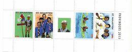 2013 St. Maarten Scouts Pathfinders  Souvenir Sheet MNH @70% FACE VALUE - Curaçao, Antilles Neérlandaises, Aruba