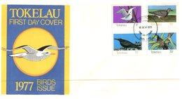 (D 17) Cover - FDC Tokelau Islands - 1977 - Tokelau