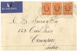 (D 17) Cover -  England To India Cover - Posted - 1936 - 1902-1951 (Kings)