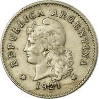 Monnaie, Argentine, 10 Centavos, 1921, TTB, Copper-nickel, KM:35 - Argentine