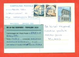 INTERI POSTALI- C 198 - 6. 1946-.. Repubblica