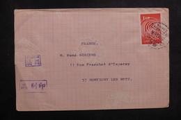 TAIWAN - Affranchissement Plaisant De Yangmei Sur Document Pour La France En 1966 - L 41058 - 1945-... República De China