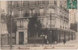 CPA PARIS XV Rue Brancion à La Rue De Vouillé Postes Poste Série Gondry N° 1536 1909 - Arrondissement: 15