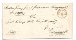 A-KI - 111/ ÖSTERREICH - Feldpost N 3, 1855 Vom 1. Infanterieregiment Nach Zadaunek/MÄHREN - Storia Postale