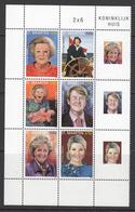 2012 St. Maarten Royal Family Block Of 6 MNH @ 75% FACE VALUE - Niederländische Antillen, Curaçao, Aruba