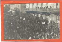 Tarn, Mazamet : La Grève, Manifestation Sur Le Cours... TOP Carte-Photo, RARE... - Mazamet